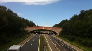 Autobahnbrücke BAB 7