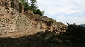 """Sanierung und Instandsetzung der Stadtmauer im Bereich östlich des """"Mainzer Hofes"""""""