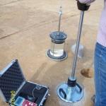 Kontrollprüfungen-Plattendruckversuch mit Fallplatte | Geotechnisches Ingenieurbüro Wabra