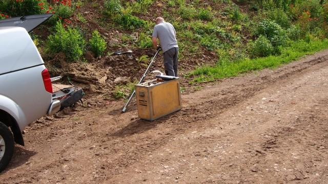 Agrargenossenschaft, Herrichtung von Verkehrsflächen