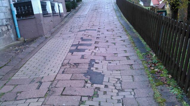 Straßenraumgestaltung, Katharinenstieg